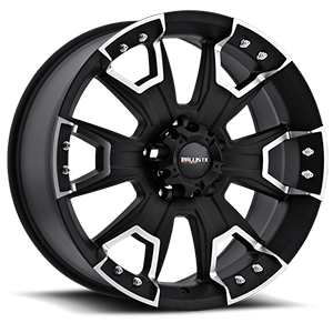 904 Havoc Flat Black 5 lug