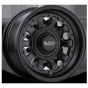 Black Rock Series 909B Type D 5 Matte Black