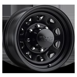 Series 942 Type D Steel Matte Black 8 lug