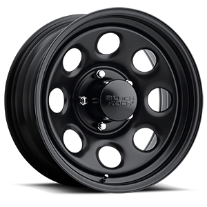Black Rock Series 997 Type 8 5 Matte Black