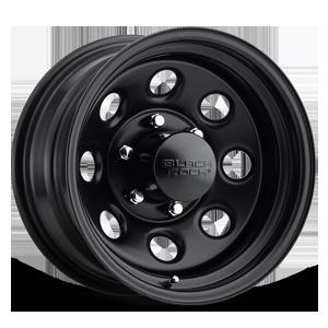 Black Rock Series 997 Type 8 6 Matte Black