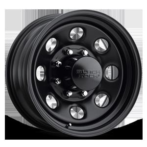 Black Rock Series 997 Type 8 8 Matte Black