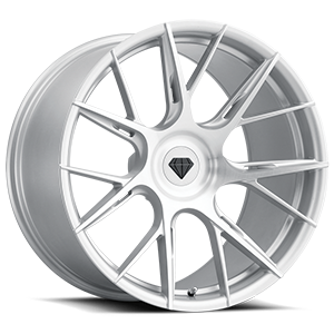BD-F18 Silver Brushed 5 lug