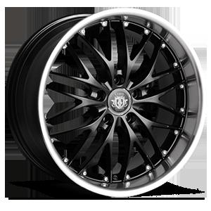 Curva Concepts C3 5 Black w/Stainless Steel Chrome Lip