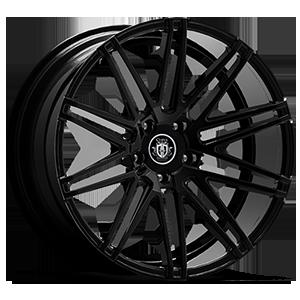 C48 All Gloss Black 5 lug
