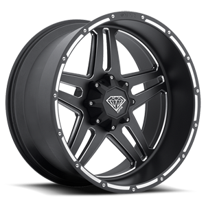 Caliber-FS Machined Black 5 lug