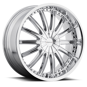 CLV-6 Chrome 5 lug