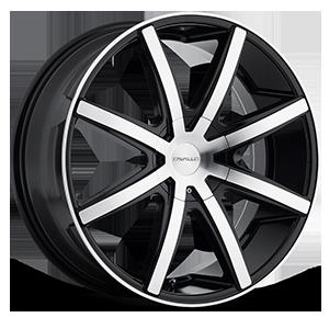 Cavallo Wheels CLV-08 5 Gloss Black Machined
