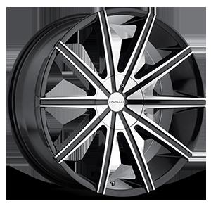 Cavallo Wheels CLV-09 5 Gloss Black Machined