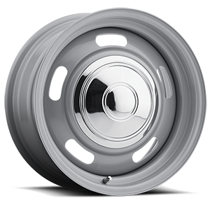 Series 144 Silver Rally Silver 6 lug