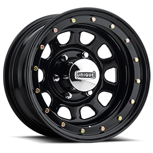 Series 252 Black Street Lock Gloss Black 6 lug