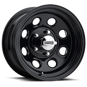 Series 297 Black Soft 8 Gloss Black 5 lug