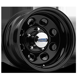 Series 397 Soft 8 Gloss Black 5 lug
