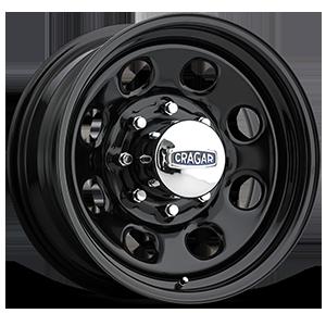 Cragar Series 397 Soft 8 8 Gloss Black