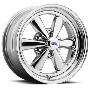 Series 61C S/S 6 Spoke Super Sport Direct Drill Chrome Plated 6 lug