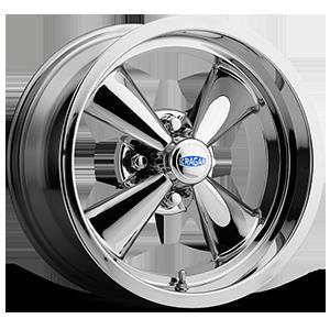 Cragar Series 401C Golf Cart S/S 4 Chrome