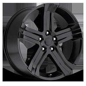 Style 69 Gloss Black 5 lug