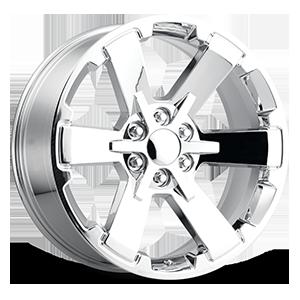 Style 45 Chrome 6 lug