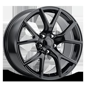 Style 75 Gloss Black 5 lug