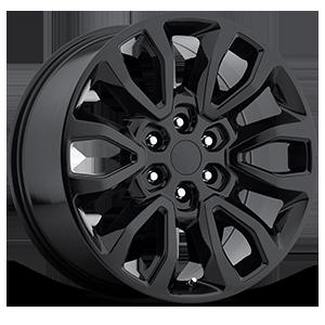 Style 53 Black 6 lug