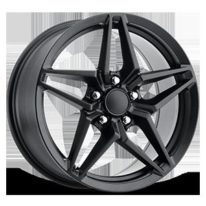 Style 29 Satin Black 5 lug