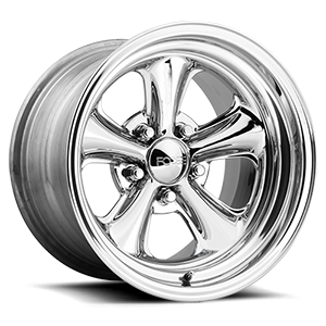 Nitrous - F402 Concave Chrome | Polished Lip 5 lug