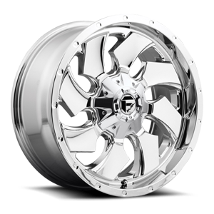 Fuel 1-Piece Wheels Cleaver - D573 5 Chrome