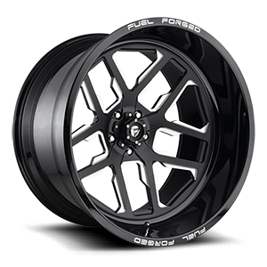 Fuel Forged Concave FFC45 - 5 Lug | Concave 5 Gloss Black & Milled