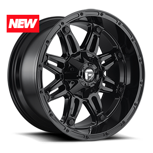 Hostage - D625 Gloss Black 6 lug