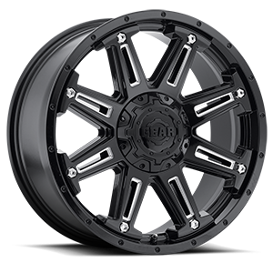 741 Mechanic Gloss Black with CNC Milled Accents 6 lug
