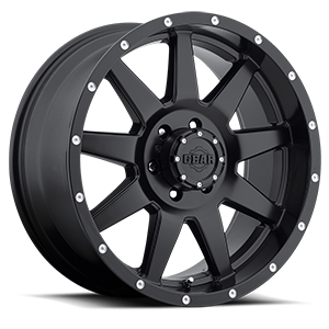 728 Overdrive Satin Black 6 lug