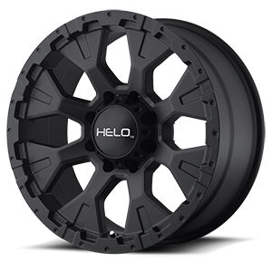 HE878 Satin Black 8 lug