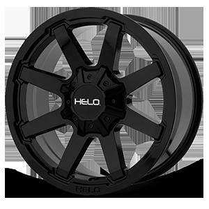 HE909 Gloss Black 6 lug