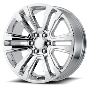182 Chrome 6 lug