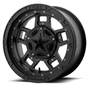XS827 RS3 Matte Black - 16x7 4 lug