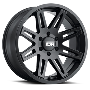 Ion Alloy Wheels 142 6 Matte Black