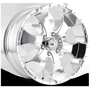 Ion Alloy Wheels 136 6 Chrome