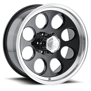 Ion Alloy Wheels 171 6 Black Machined