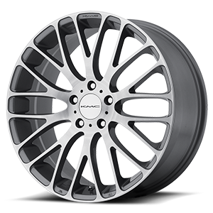 KM693 Maze Pearl Gray w/ Brushed Face 5 lug