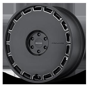 KMC Wheels KM689 Skillet 6 Satin Black Milled