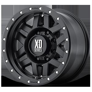 XD128 Machete Satin Black 8 lug