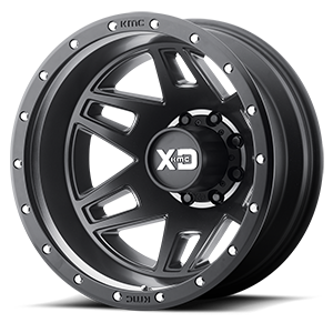XD Series by KMC XD130 Machete Dually 8 Satin Black