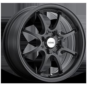 Konig Wheels Helium 4 Matte Black