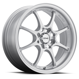 Konig Wheels Helium 4 Silver