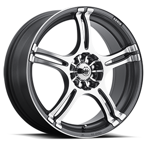 Incident Graphite Mirror Machined Face 5 lug