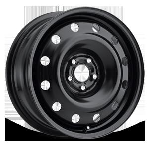 Atom Steel Wheel Satin Black 5 lug