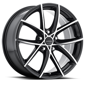 Instinct 5 Gloss Black with Machined Face