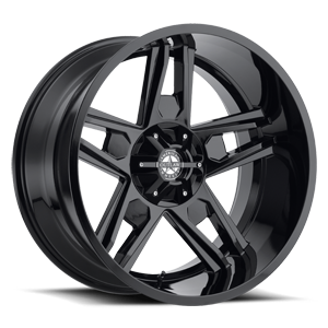 Lonestar Gloss Black 6 lug