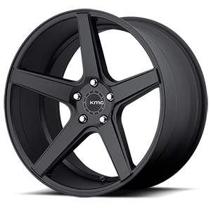 KMC Wheels KM685 District 5 Satin Black