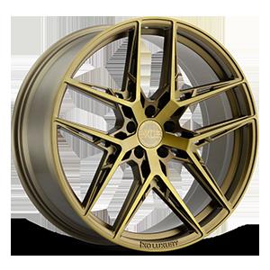 XO Wheels Cairo 5 Bronze w/ Brushed Bronze Face - 21x9